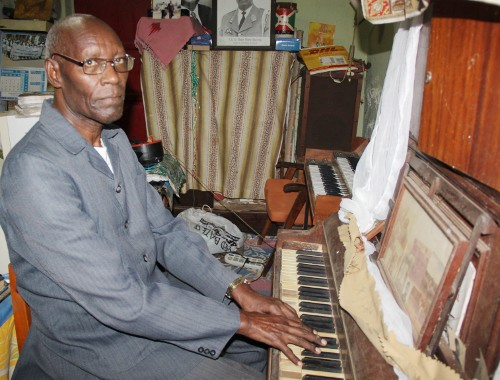 Abbe Marc Barengayabo, composer of Burundi's national anthem