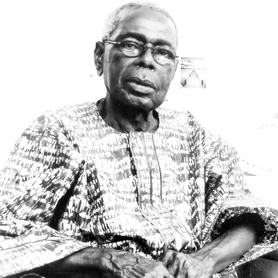 Pa Benedict Odiase, composer of Nigeria's national anthem