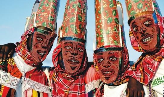 Montserratian carnival masks