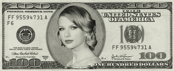Taylor Swift money