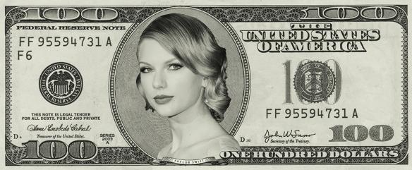 Taylor Swift money
