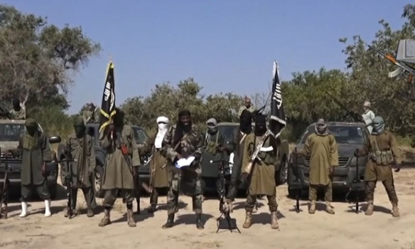 Boko Haram video still