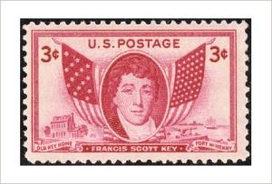 Francis Scott-Key stamp