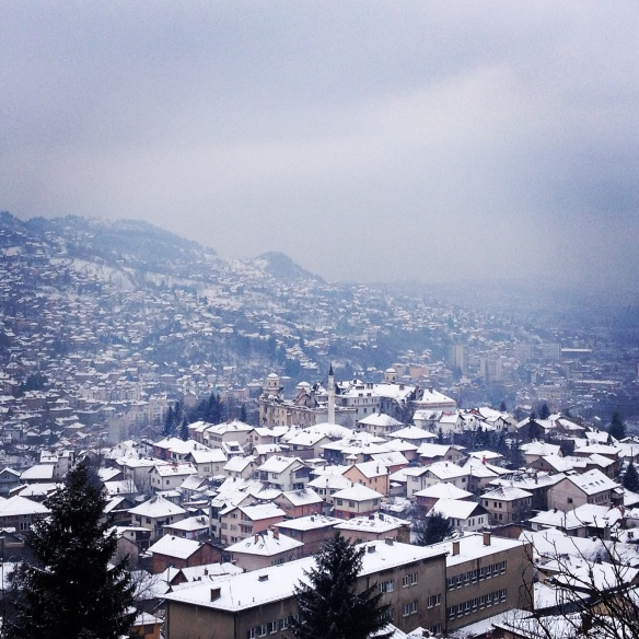 Sarajevo in the snow time!
