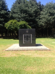 "Enoch Sontonga's memorial in J'burg cemetary. Among the inscription is this quote: ""A spark of God's own light, he died too young. Wept for then, honoured now and forever in the voices of this nation sung."""