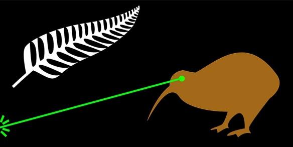 Laser kiwi!