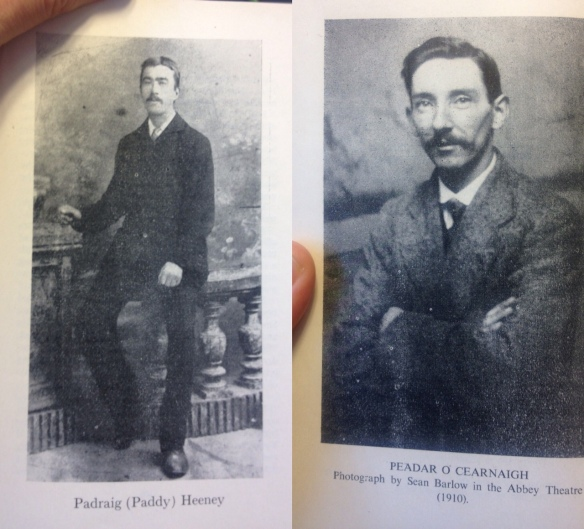 Peadar Kierney and Partick Heeney, the men behind A Soldier's Song, Ireland's national anthem