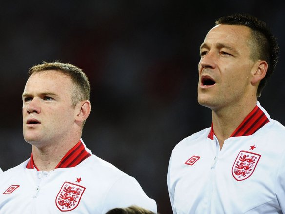 I'm not entirely sure Wayne would sing an English anthem with any more gusto