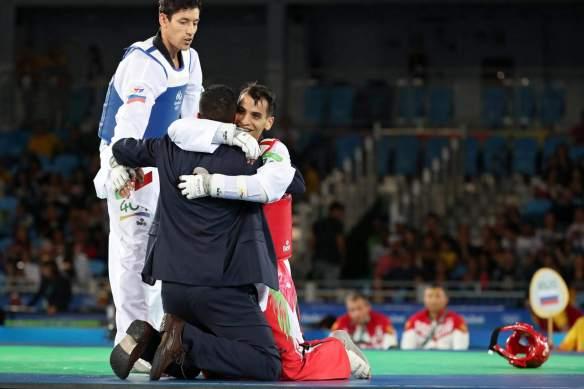 Ahmad Abughaush wins gold for Jordan