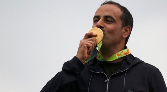 Fehaid Aldeehani wins gold at Rio